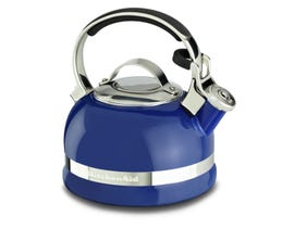 KitchenAid 2.0-Quart Kettle with Full Stainless Steel Handle and Trim Band in Doulton Blue KTEN20SBDB