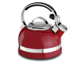 KitchenAid® 2.0-Quart Kettle with Full Stainless Steel Handle and Trim Band Red KTEN20SBER