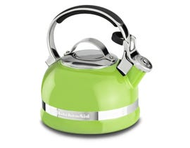 KitchenAid® 2.0-Quart Kettle with Full Stainless Steel Handle and Trim Band Lime KTEN20SBKL