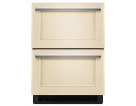 KitchenAid 24-inch 4.9 cu.ft. refrigerator freezer drawer panel ready KUDF204EPA
