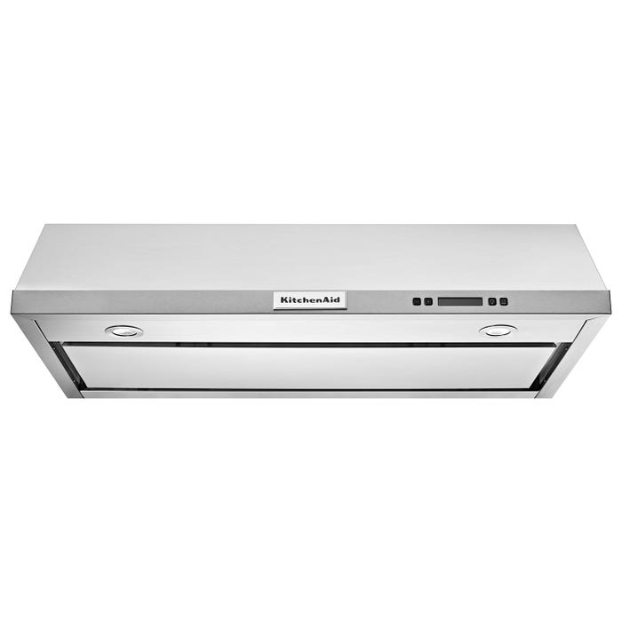 KitchenAid 30-inch Under-Cabinet Hood with 600 CFM in stainless steel KVUB600DSS