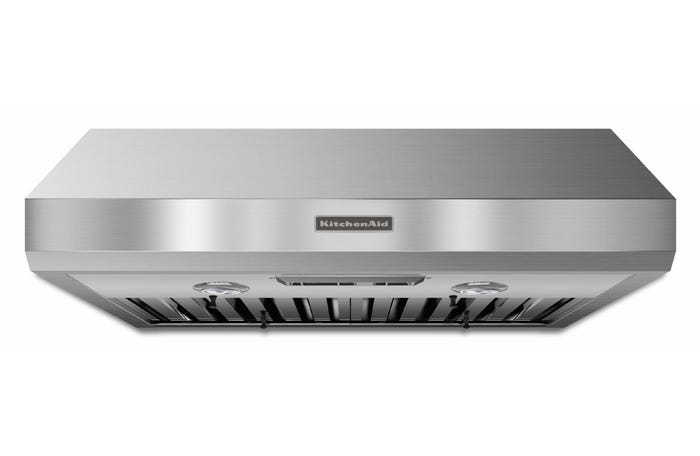 KitchenAid Range Hood 30-inch Under-the-Cabinet 600 CFM Commercial Style in stainless steel  KXU8030YSS