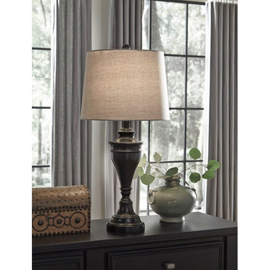 Signature Design by Ashley Metal Table Lamp L204024