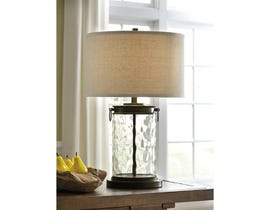 Signature Design by Ashley Glass Table Lamp L430324