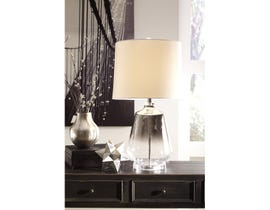 Signature Design by Ashley Glass Table Lamp Jaslyn L430414