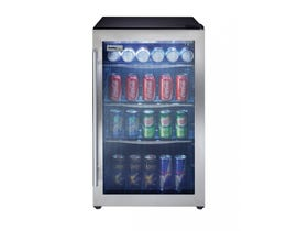 Danby 19.5 inch 4.3 cu.ft beverage center in stainless DBC434A1BSSDD
