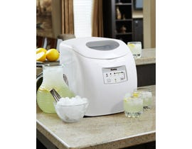 Danby 12 inch 2 lbs ice maker in white DIM2500WDB
