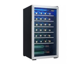 Danby 17.5 inch 3.3 cu.ft wine cooler in stainless DWC93BLSDB