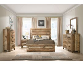 Leroy Series 6Pc Queen Bedroom Set in Antique Natural C120960A