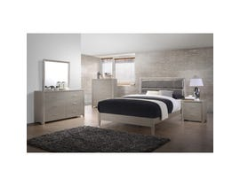 Brassex Monaco Bedroom Set Queen Silver LH-106AQ