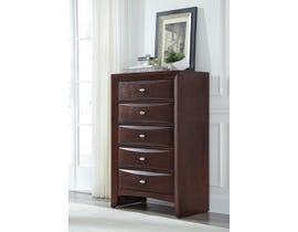 Global Furniture Linda Chest New Merlot M-CH