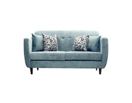 Edgewood Furniture Loveseat in Tahiti Aqua/Comb Pacific 1989-35