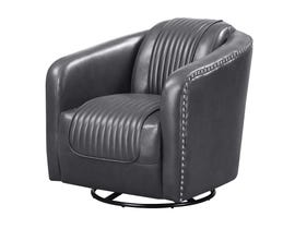 High Society Luxor Series Accent Chair in Lividity 748