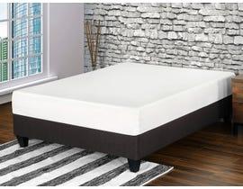 Primo International Amani Series 10 Inch Gel Memory Foam Twin Mattress in White 3986
