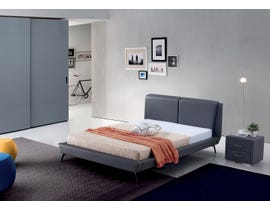 Sinca Madrid Bed in Dark Grey M1717