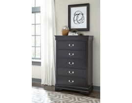 Global Furniture Marley Black Chest BL-CH