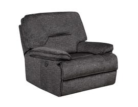 K-Living Maryland Fabric Power Recliner Chair with USB OUTLET  in Grey Fabric 6500