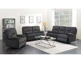 K Elite 3 Piece Maryland Living Room Sofa Set in Grey 6500SLC