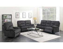 K Elite 3 Piece Maryland Living Room Sofa Set in Grey 6500SLC