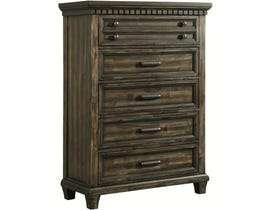 High Society McCabe Collection Chest with USB in Smokey Gray Oak MB600CH