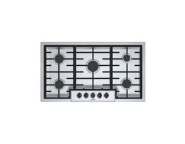Bosch 36 inch Built-In Gas Cooktop in Stainless Steel NGM5656UC