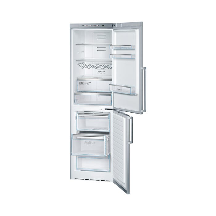 Bosch 24 inch 11 cu.ft. compact refrigerator 500 series in stainless steel B11CB50SSS