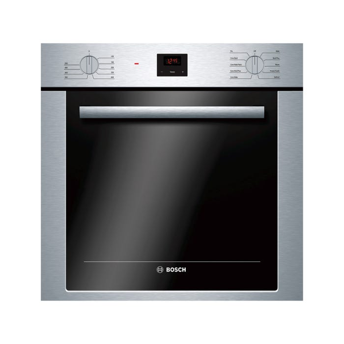 Bosch 24 inch 2.8 Cu. Ft. Easy Clean Wall Convection Oven in Stainless Steel HBE5451UC
