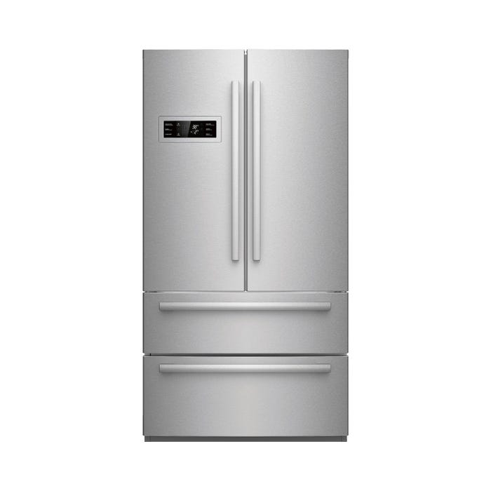 Bosch 36 inch 20.7 Cu.Ft. Counter-Depth French Door Refrigerator 800 series in Stainless Steel B21CL80SNS