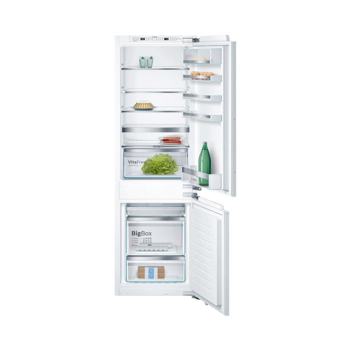 Bosch 22 inch 9.6 Cu.Ft. Built-in Bottom Mount Freezer Refrigerator with Home Connect B09IB81NSP