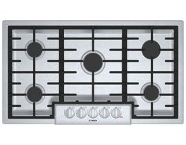 Bosch 36 inch Built-In Gas Cooktop in Stainless Steel NGM8656UC