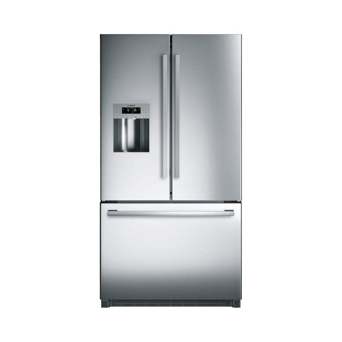 Bosch 36 inch 25 Cu.Ft. French Door Refrigerator 800 Series in Stainless Steel B26FT50SNS
