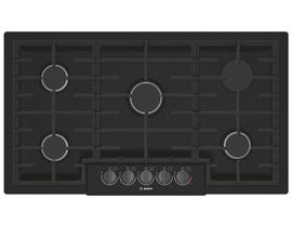 Bosch 36 inch Built-In Gas Cooktop in Black Stainless Steel NGM8646UC