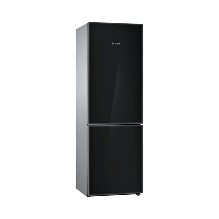 Bosch 24 inch 10.0 Cu.Ft. Bottom Mount Refrigerator  800 Series in Black/Glass B10CB80NVB