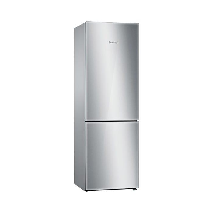 Bosch 24 inch 10.0 Cu. Ft. Bottom Mount Refrigerator  800 Series in Stainless Steel/Glass B10CB80NVS