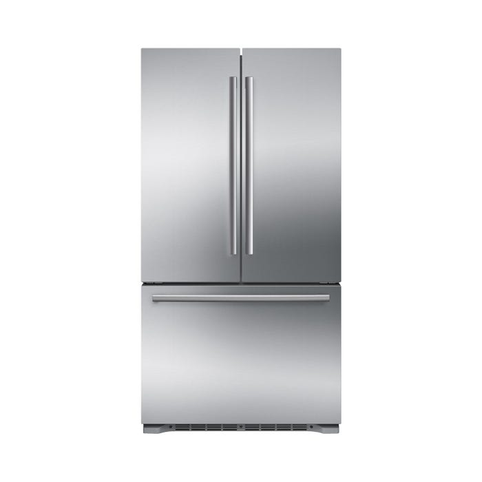 Bosch 36 inch 20.7 Cu.Ft. French Door Counter-Depth Refrigerator 800 series in stainless steel B21CT80SNS