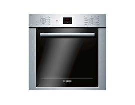 Bosch 24 Inch Single Wall Oven in Stainless Steel HBE5453UC