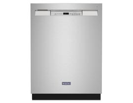 Maytag 24 inch 50 dBA Built-in Dishwasher in Stainless Steel MDB4949SKZ
