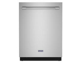 Maytag 24 inch 44 dBA Built-In Dishwasher in Stainless Steel MDB9979SKZ