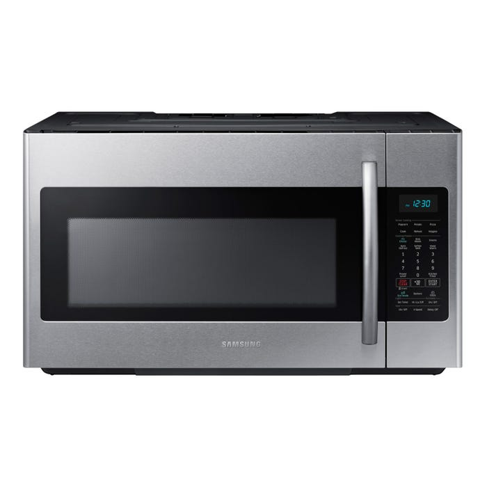 Samsung 30 inch 1.8 cu. ft. Over-the-Range Microwave  with Simple Clean Filter in stainless steel ME18H704SFS