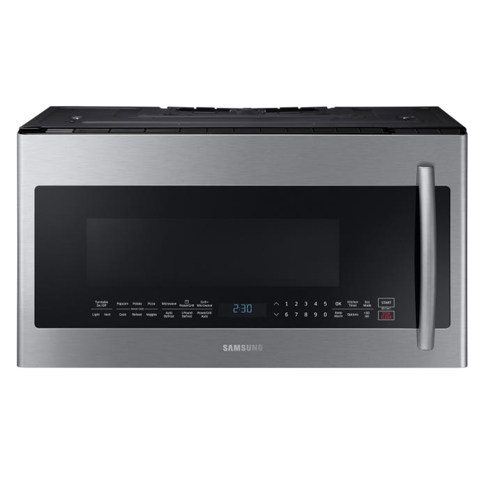 Samsung 30 inch 2.1 cu. ft. Over-the-Range Microwave with PowerGrill in stainless steel ME21K7010DS