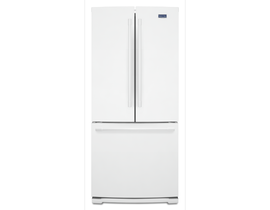 "Maytag 30"" 19.6 cu. ft. French Door Refrigerator in White MFB2055FRW"