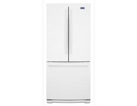 "Maytag 30"" 19.6 cu. ft. French Door Refrigerator in White MFB2055FRW"