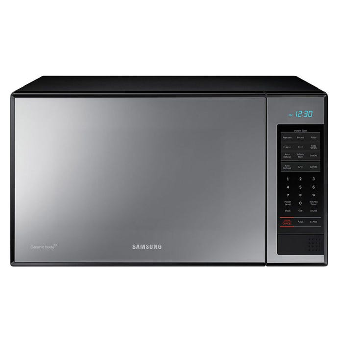 Samsung 21 7/8 inch 1.4 cu. ft. counter top Microwave with Grill in stainless steel MG14J3020CM