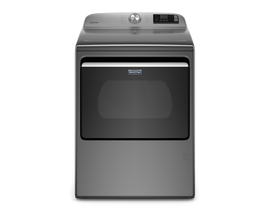 Maytag 27 inch 7.4 cu. ft. Smart Gas Dryer in Metallic Slate MGD6230HC