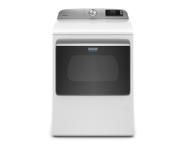 Maytag 7.4 cu. ft. Smart Top Load Gas Dryer in White MGD6230HW