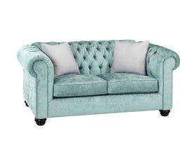 SBF Upholstery Mia Fabric Loveseat in Mist/TP Mist 2525