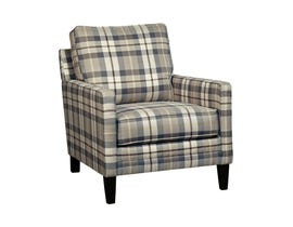 MILLENIUM Autwell fabric Accent Chair in slate multi-colour 5590121