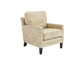 Signature Design by Ashley Cloverfield Series Fabric Accent Chair in Fawn Brown 2790121