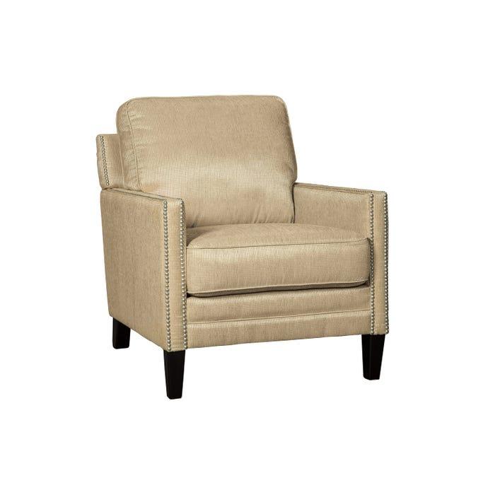 MILLENIUM Vilonia fabric accent chair in sunshine beige 5200220