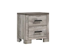 High Society Millers Cove Series Nightstand in Weathered Grey MC300